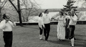 1976 English dance demonstration for Bicentennial celebration